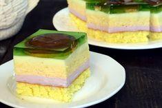 Cake Bars, Polish Recipes, Calzone, Food Cakes, Homemade Cakes, Vanilla Cake, Cake Recipes, Cheesecake, Food And Drink