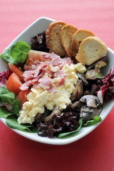 English breakfast Salad by Salad Pride, via Flickr