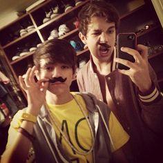Alex Constancio and Austin Mahone(: