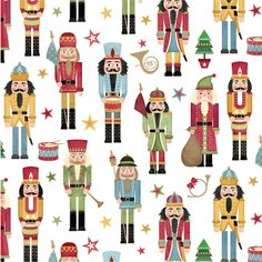 Amazon.com : Jillson Roberts Recycled Christmas Flat Gift Wrap, Traditional Nutcracker, 6 Count (XF611) : Gift Wrap Paper : Office Products