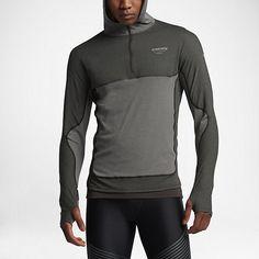 Nike x undercover gyakusou aeroreact hoody description: stay warm and focused with the aeroreach hoodie from nike lab gyakusou. Mens Sweatshirts, Hoodies, Nike, Hooded Jacket, Sportswear, Running, Jackets, Fashion Design, Sports Tops