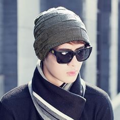15.00$  Watch now - http://alignn.shopchina.info/1/go.php?t=32814345385 - Hat man han edition of outdoor warm knit cap of autumn winter and wool hat cap  #aliexpress
