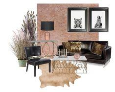 """Animal Print"" by atpstudio on Polyvore featuring interior, interiors, interior design, Casa, home decor, interior decorating, Gabby, Loloi Rugs, Powell e Tom Dixon"