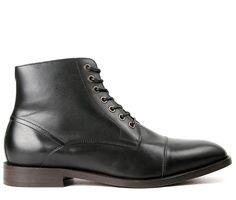 Seymour Black Boot (£125.00) - Part of our Allingham men's range, Seymour is a…
