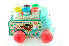 Fisher-Price Milk Wagon | Flickr - Photo Sharing!
