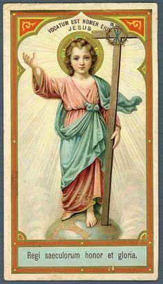 Catholic Crafts, Catholic Art, Religious Art, Roman Catholic, Jesus Reyes, Jesus Art, Jesus Christ, Catholic Pictures, Vintage Holy Cards