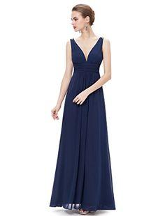 Ever Pretty Womens Sleeveless Floor Length Formal Party Dress 14 US Navy Blue Ever-Pretty http://www.amazon.com/dp/B00ZEF97W8/ref=cm_sw_r_pi_dp_ts7qwb0XXM49X