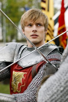 Bradley James- as Arthur Pendragon or better known as the hot British musician zombie guy Lowell Casey in izombie ❤