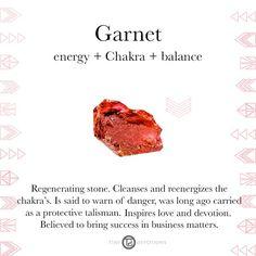 Garnet | Gemstones & Sacred Materials | Tiny Devotions | Mala Beads