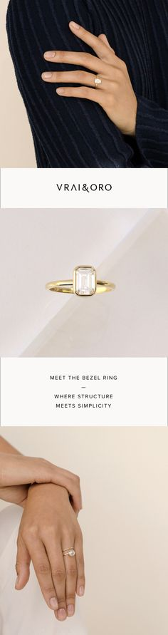 Designed for love of all forms. Thoughtful Engagement Rings that mirror the values of the women we create for.