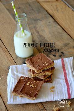 Peanut Butter Fingers Recipe   theidearoom.net