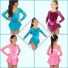 Jerry's Figure Skating Dress 150 - Rhinestone  https://figureskatingstore.com/jerrys-figure-skating-dress-150-rhinestone-pacific-blue/  https://figureskatingstore.com/brands/Jerry-Skating-World.html Jerry's classic rhinestone dress. Velvet dress with long mesh sleeves, a square neckline, georgette skirt and a scattering of sparkling crystals front and back.  Sizes: Youth 6-8, 8-10, 10-12, 12-14 – Adult Small #figureskatingstore #figureskating #iceskating #skating #figureskater