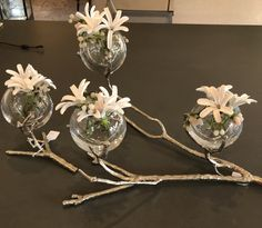 Triple or single or double Centerpiece