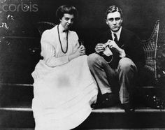 Eleanor and Franklin Roosevelt as a young couple. They were married March 17, 1905.