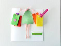 Birthday Greeting Card Handmade Blank Birthday by elenasaglfe