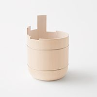 NENDO - uneven-oke bucket