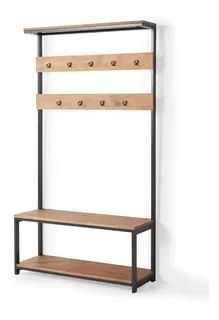 Garderobe Design, Hall Stand, Iron Furniture, Wood Steel, Banquette, Entrance Hall, Fashion Room, Cottage Homes, Mudroom