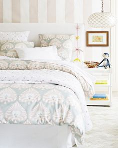 Discover luxury duvet covers and shams from Serena & Lily and find the perfect bedding for your master and guest bedrooms. Shop now. Guest Bedrooms, Girls Bedroom, Bedroom Ideas, Master Bedroom, Room Girls, Bedroom Inspo, Bedroom Inspiration, Guest Room, Luxury Duvet Covers