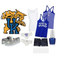"""""""When it comes to basketball, we are the shiiii. Step in Rupp Arena, the Cats be bringing it"""" I'm not sure if I love the outfit it the song more."""