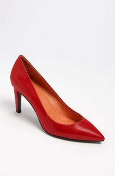 $104.98   Via Spiga 'Harrietta' Pump (Red Leather only) available at #Nordstrom