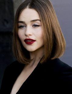 "daenerysstormbon: "" ""Emilia Clarke attends the Christian Dior show as part of the Paris Fashion Week Womenswear Spring/Summer 2016 on October 2, 2015 in Paris (x) "" """