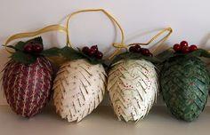 Handmade Christmas bauble photos