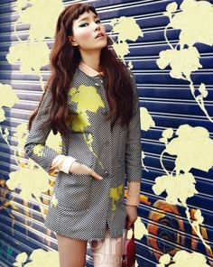 Jin Jungsun by Soo Jin for Vogue Girl Korea Mar...