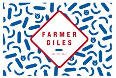 Farmer Giles is a friend of mine who wholesales meat products ( mainly english style sausages ) from Pacdon Park. I wanted it to look moder...