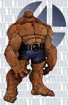The Thing Color by CBS-Ink.deviantart.com on @DeviantArt