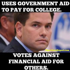 Another Republican voting to cut the budget for public education.
