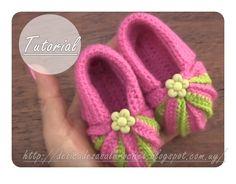 Delicadezas en crochet Gabriela: Zapatitos de bebè