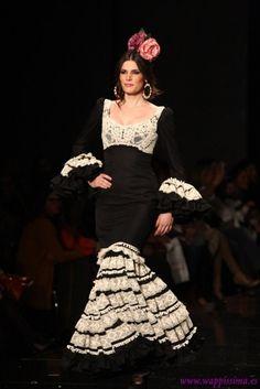 Traje de Flamenca - Pilar-Vera - SIMOF-2013
