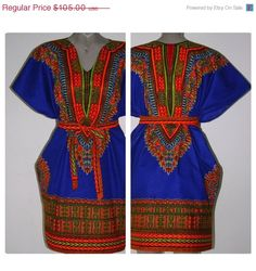 Azul Royalty Dashiki Dress.