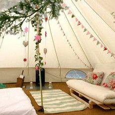Bell tent - 400 | Sibley Deluxe, vast grondzeil