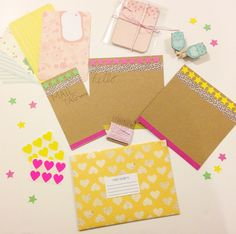 Cute Snail Mail Package made by http://instagram.com/emstag  More Snail Mail Ideas and inspiration on www.snailmail-ideas.com
