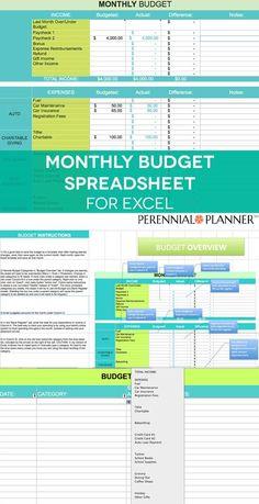 Insanely Useful  Free Money Management Worksheets  Tools