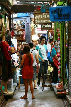 Market?  Chatuchak market in Bangkok is somewhere you can get lost for hours. Antiques, food, jewellery, clothes – it's got it all.
