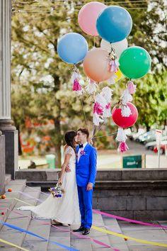 Whimsical 70's Inspired Wedding ~ Oli Sansom Photography | bellethemagazine.com