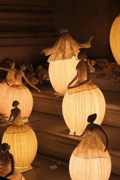 Paris Through My Lens: Lamps displayed on the steps at the Opera Garnier's Boutique
