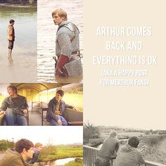 ARTHUR COMES BACK AND EVERYTHING IS OK (AKA A HAPPY POST FOR MERTHUR FANS)
