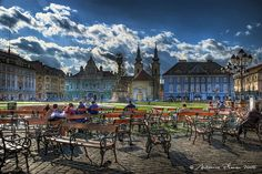 Timisoara, probably the most beautiful city in Romania Travel Around The World, In This World, Around The Worlds, Most Beautiful Cities, Wonderful Places, Oh The Places You'll Go, Places To Visit, Timisoara Romania, Local Tour