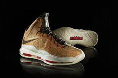 Nike Sportswear LeBron X Cork Edition | Hypebeast