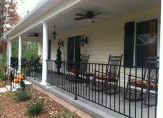 Best Front Porch Iron Railing Ideas Wrought Iron Porch 400 x 300