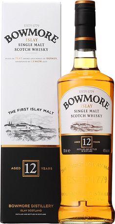 Amazon.co.jp: シングルモルト ウイスキー ボウモア 12年 700ml: 食品・飲料・お酒