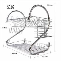 Home & Garden, Kitchen, Dining & Bar, Kitchen Storage & Organization, Racks & Holders, Home & Garden, Household Supplies & Cleaning, Home Organization, Hooks & Hangers Dish Racks, Household Cleaning Supplies, Bathroom Shelves, Storage Rack, Organizer, Kitchen Storage, Bar, Sink, Organization