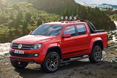 Volkswagen Amarok Canyon, a diesel with a 6 speed transmission www.truefleet.co.uk