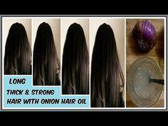 Onion Hair Oil - Fast Hair Regrowth, Hair Loss, Long & thick hair - YouTube
