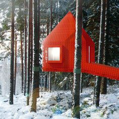 The Wonderful Treehouse Hotel in Sweden Treehouse Hotel, Life Space, Cool Tree Houses, No Photoshop, Lego Building, Room Themes, Home And Away, Amazing Architecture, Play Houses