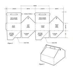 Gable box template...and lots of other box templates