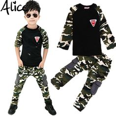 2016 New Camouflage Kids Clothing Set for Boys&Girls Spring&Autumn Cotton Camo Boys Sports Set Active Girls Clothing Sets #>=#>=#>=#>=#> Click on the pin to check out discount price, color, size, shipping, etc. Save and like it!